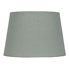 image of Mix & Match Small Burlap Lamp Shade in Blue