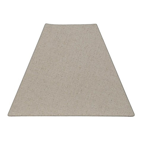 Mix Amp Match Small Square Lamp Shade In Beige Bed Bath