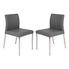 Image Of EurostyleTM Parker Dining Chairs Set 2