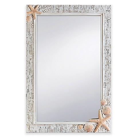Prinz sand piper 20 inch x 30 inch rectangular mirror for Mirror 20 x 30