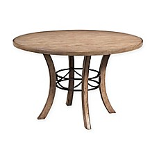 Hillsdale Charlestown 48 Inch Round Dining Table In Tan