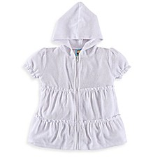 image of Baby Buns Ruffle Cover-Up in White