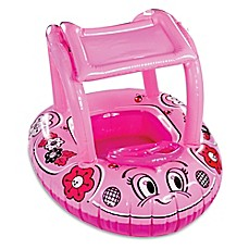 image of AquaLeisure SwimSchool Sunshade Buggy Babyboat in Pink