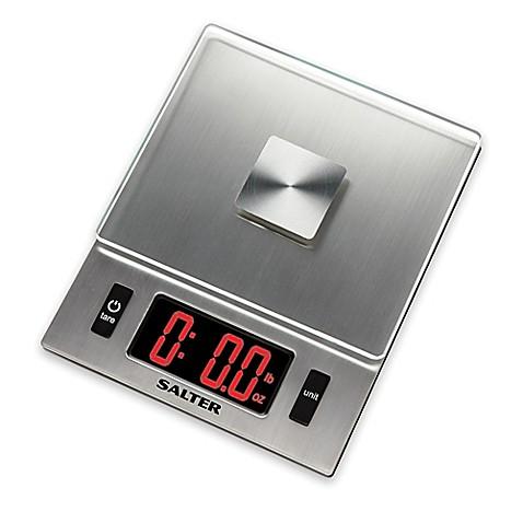 Salter Led Display Digital Kitchen Food Scale Bed Bath Beyond