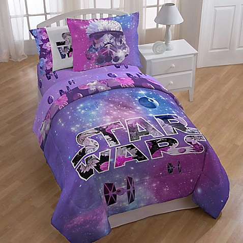 Buy Star Wars Galaxy Twin Twin Xl Comforter From Bed Bath