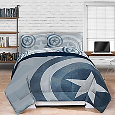 image of Marvel® Captain America Lifestyle Shield Comforter
