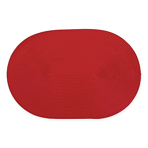 Ziczac Oval Placemat Set Of 4 Bed Bath Amp Beyond
