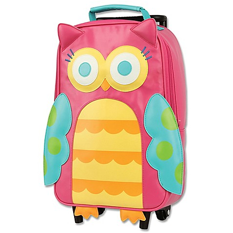 Stephen Joseph® Owl Rolling Backpack in Pink - Bed Bath & Beyond