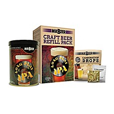 image of MR. BEER® Long Play IPA Refill Brew Pack