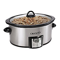 image of Crock-Pot® 4 qt. Count Down Slow Cooker