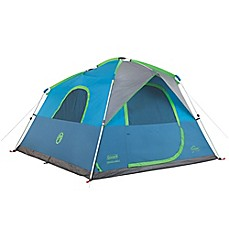 image of Coleman® Instant Cabin 6-Person Double-Hub Camping Tent
