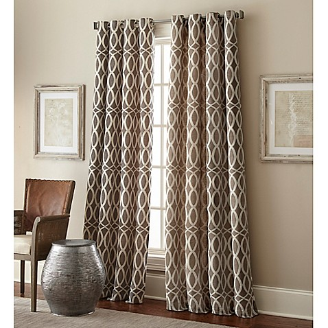 hewlett grommet window curtain panel bed bath amp beyond 85724