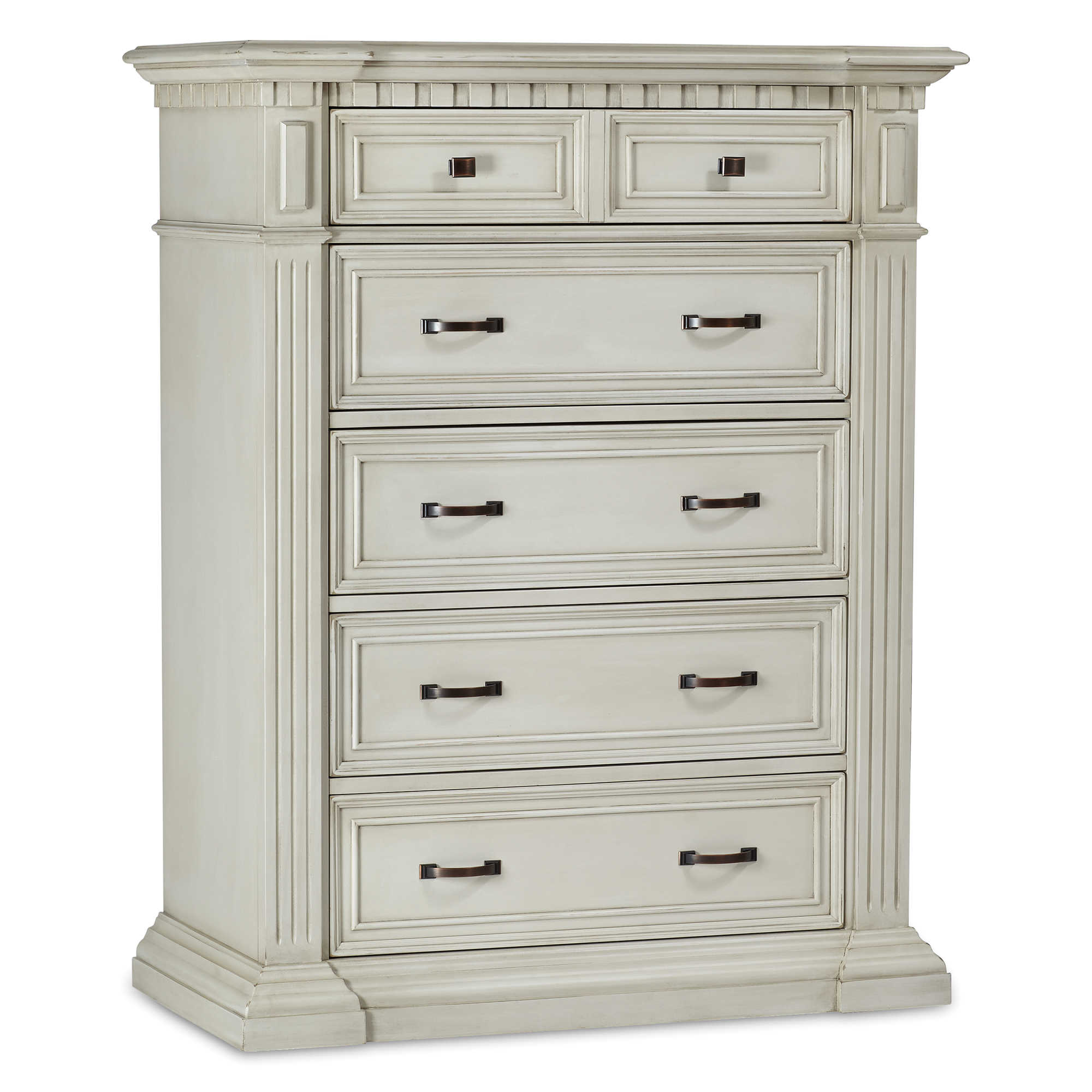 candelabra dresser colonial drawer noir inc white