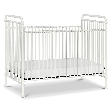 million dollar baby classic abigail 3in1 convertible crib in washed white