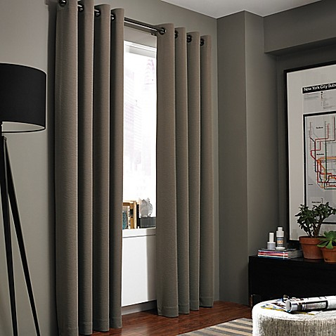 Kenneth Cole Reaction Home Bowery Texture Lined Grommet