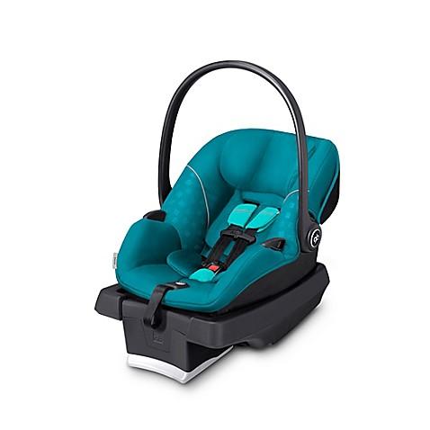 gb asana infant car seat in capri blue with load leg base bed bath beyond. Black Bedroom Furniture Sets. Home Design Ideas