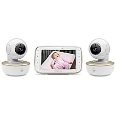 image of Motorola® 5-Inch HD Video Baby Monitor with WiFi and Two Cameras