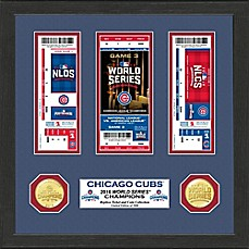 image of MLB Chicago Cubs 2016 World Series Ticket Collection