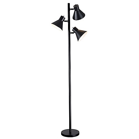 Buy kenroy home ash 3 light tree floor lamp in black from for Draper 3 light tree floor lamp