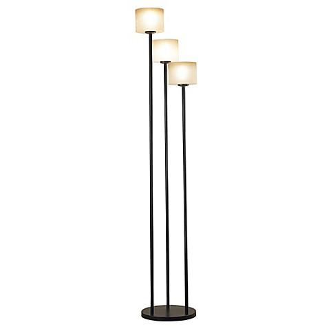 buy kenroy home matrille 3 light floor lamp in bronze from bed bath. Black Bedroom Furniture Sets. Home Design Ideas