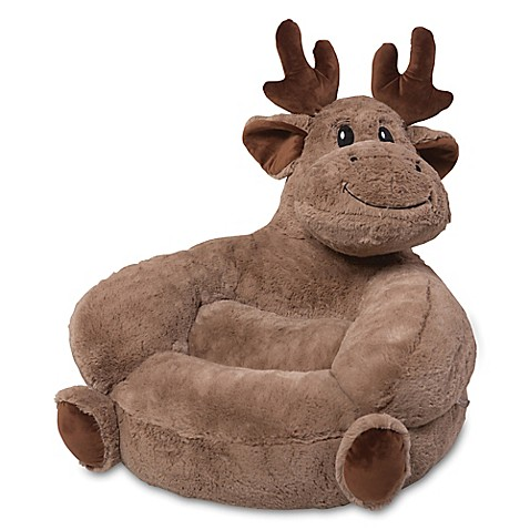 Trend Lab® Plush Moose Chair in Brown - Bed Bath & Beyond