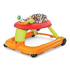 image of Chicco® 1-2-3 Activity Baby Walker in Confetti Orange