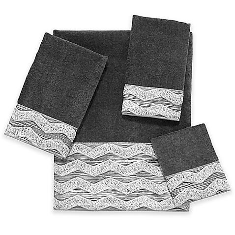 Avanti Chevron Galaxy Fingertip Towel Bed Bath Amp Beyond
