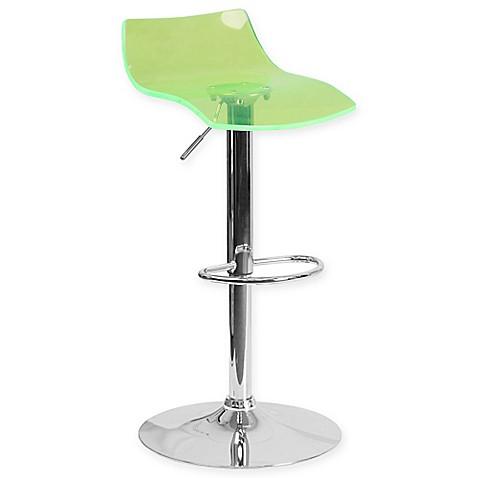 Buy Flash Furniture Transparent Height Adjustable Acrylic