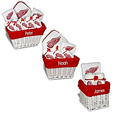 image of Designs by Chad and Jake NHL Personalized Detroit Red Wings Gift Basket