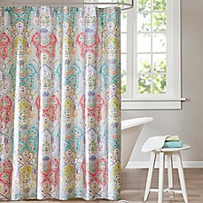 image of Echo Design™ Cyprus Shower Curtain