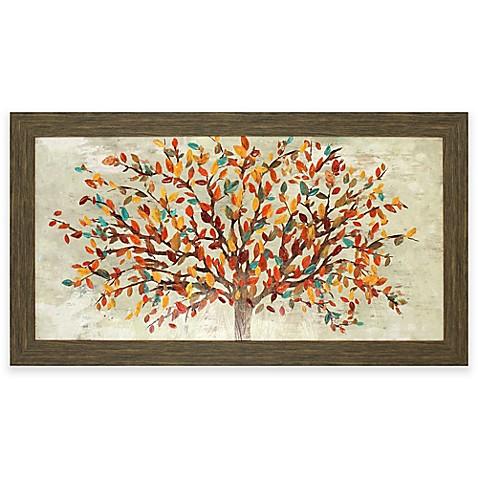 image of fall foliage wall art