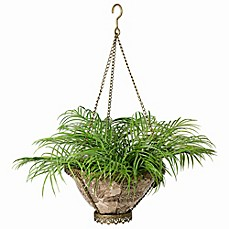 image of Bombay® Outdoor Avignon Hanging Fabric Planter with Liner