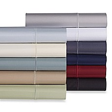 image of Wamsutta® Damask Stripe 500-Thread-Count PimaCott® Sheet Set