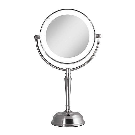Rechargeable 1x 10x Led Vanity Mirror, Makeup Mirror Light Up