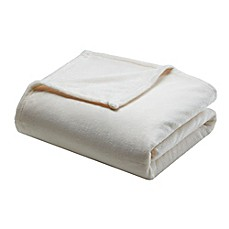 image of Comfort Classics® MicroLight Blanket in Ivory