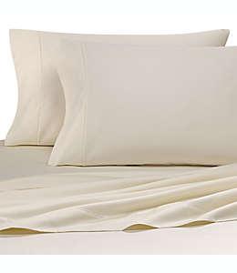 Fundas para almohadas king Wamsutta® 500 hilos de algodón color hueso, 2 piezas