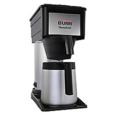 image of Bunn® BTX-B 10-Cup Thermo Fresh High Altitude Coffee Maker in Black