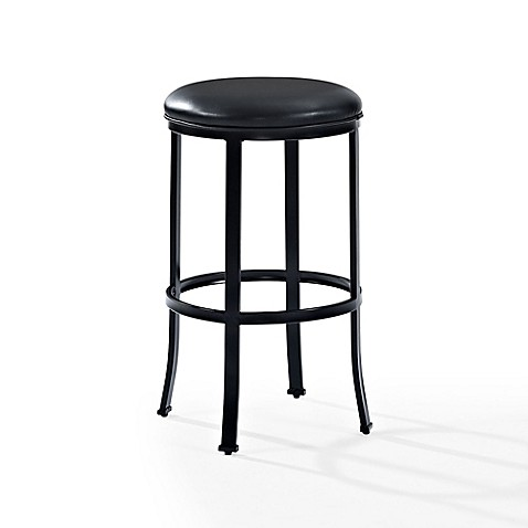 Crosley Windsor Stool In Black Bed Bath Amp Beyond