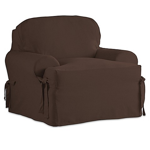 Perfect Fit Relaxed Fit Cotton Duck T Cushion Chair