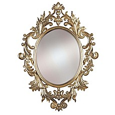 image of Kenroy Home 28-Inch x 38-Inch Louis Mirror in Gold
