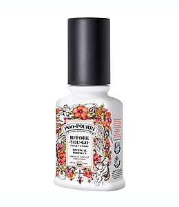 Desodorante en aerosol para baño de aceites esenciales naturales Poo-Pourri® Before-You-Go®, de 2 oz. (59.14 mL), aroma hibisco tropical