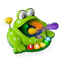 image of Bright Starts™ Pop & Giggle Pond Pal in Green