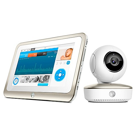 motorola mbp877cnct smart nursery 7 wifi video baby monitor bed bath. Black Bedroom Furniture Sets. Home Design Ideas