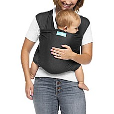 image of Moby® Wrap Evolution Baby Carrier in Charcoal