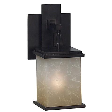 Kenroy Home Plateau 1 Light Bath Sconce In Oil Rubbed Bronze Bed Bath Beyond