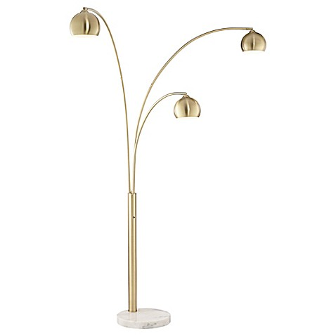 Pacific Coast 174 Lighting Crosstown Arc 3 Light Floor Lamp