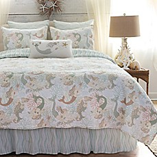 image of Mystic Echoes Quilt in White