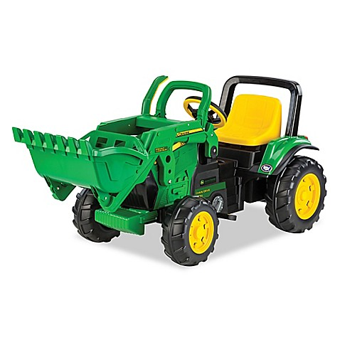 peg perego john deere ride on front loader bed bath beyond. Black Bedroom Furniture Sets. Home Design Ideas