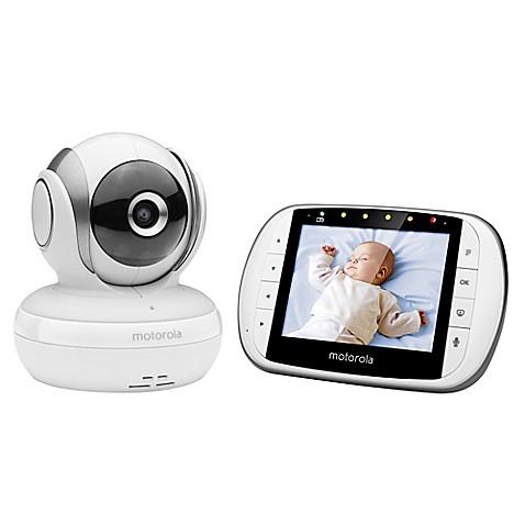 Motorola 174 Mbp33xl 3 5 Quot Video Baby Monitor White Bed Bath