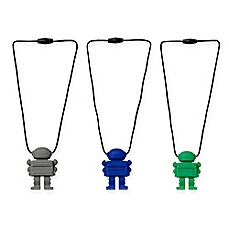image of chewbeads® Juniorbeads Astronaut Pendant Necklace
